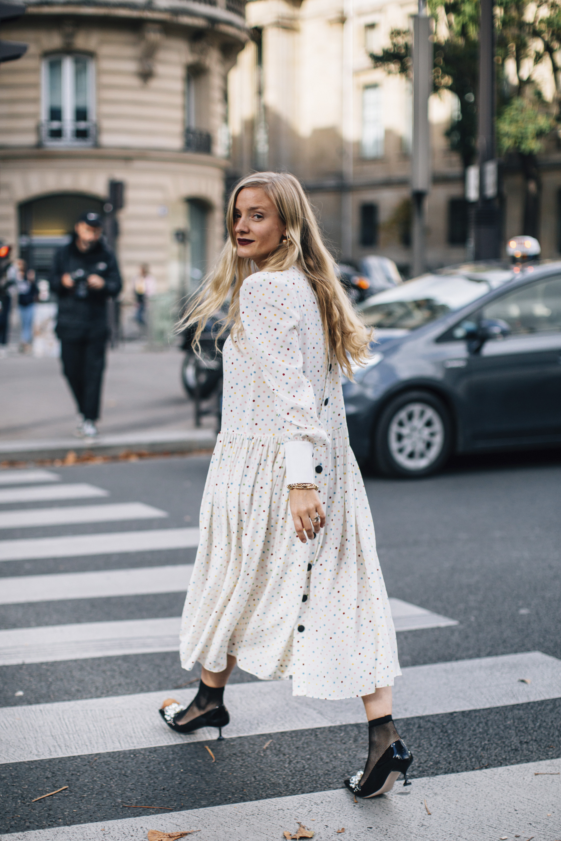 Paris Fashion Week Street Style Spring 2018 Day 8 Cont