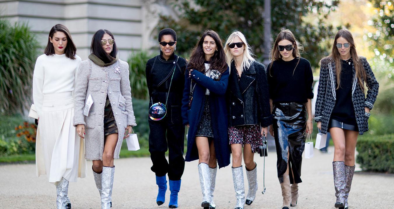 Paris Fashion Week Street Style Spring 2018 Day 8