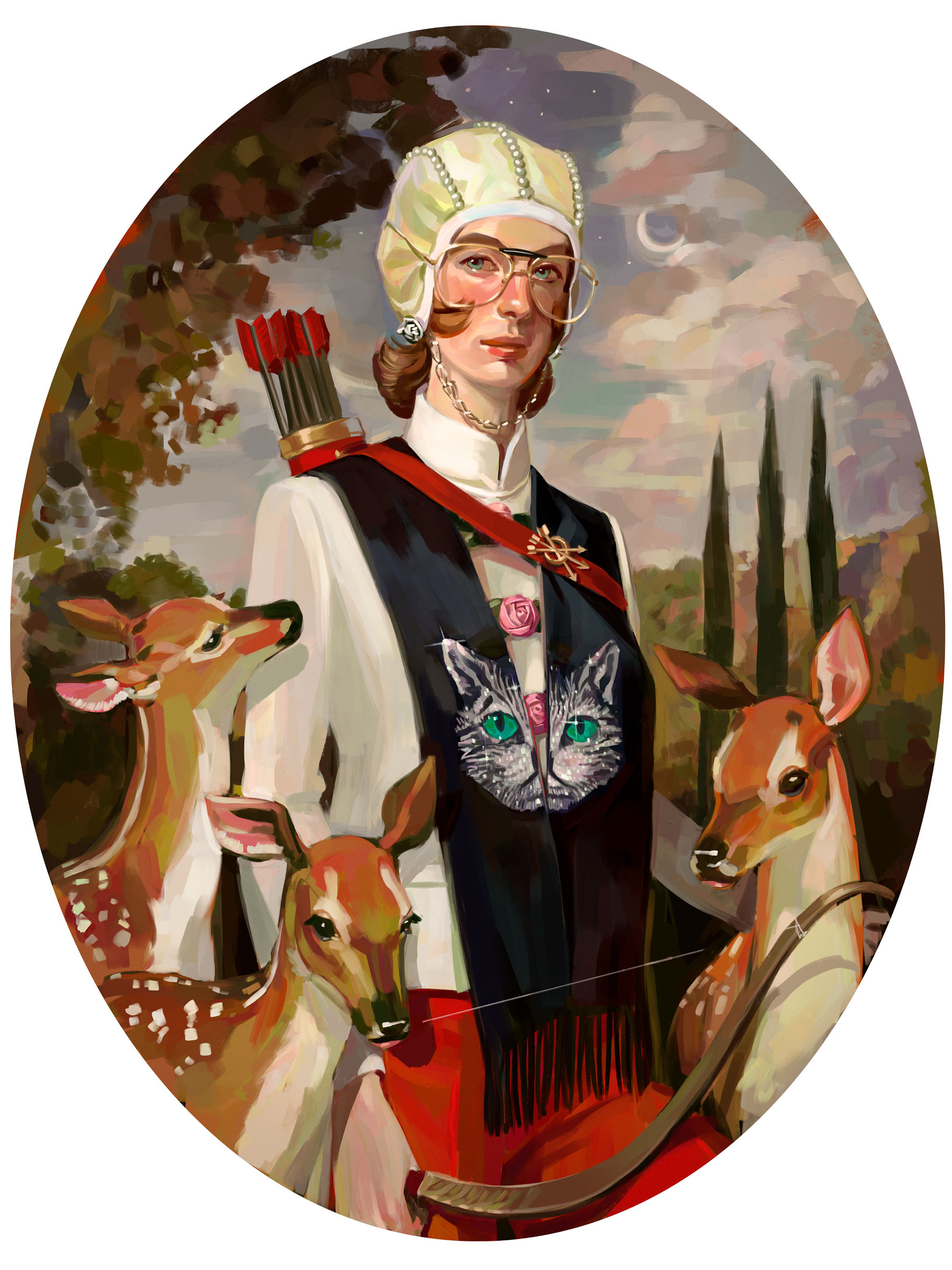 Gucci Gift Giving campaign by Spanish artist Ignasi Monreal