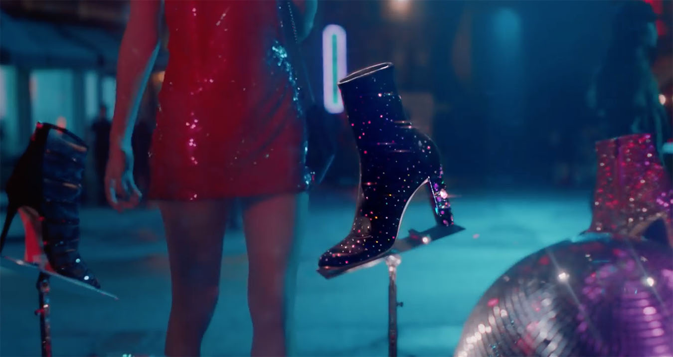 334030112b9b Cara Delevingne in Jimmy Choo s Holiday 2017 Campaign