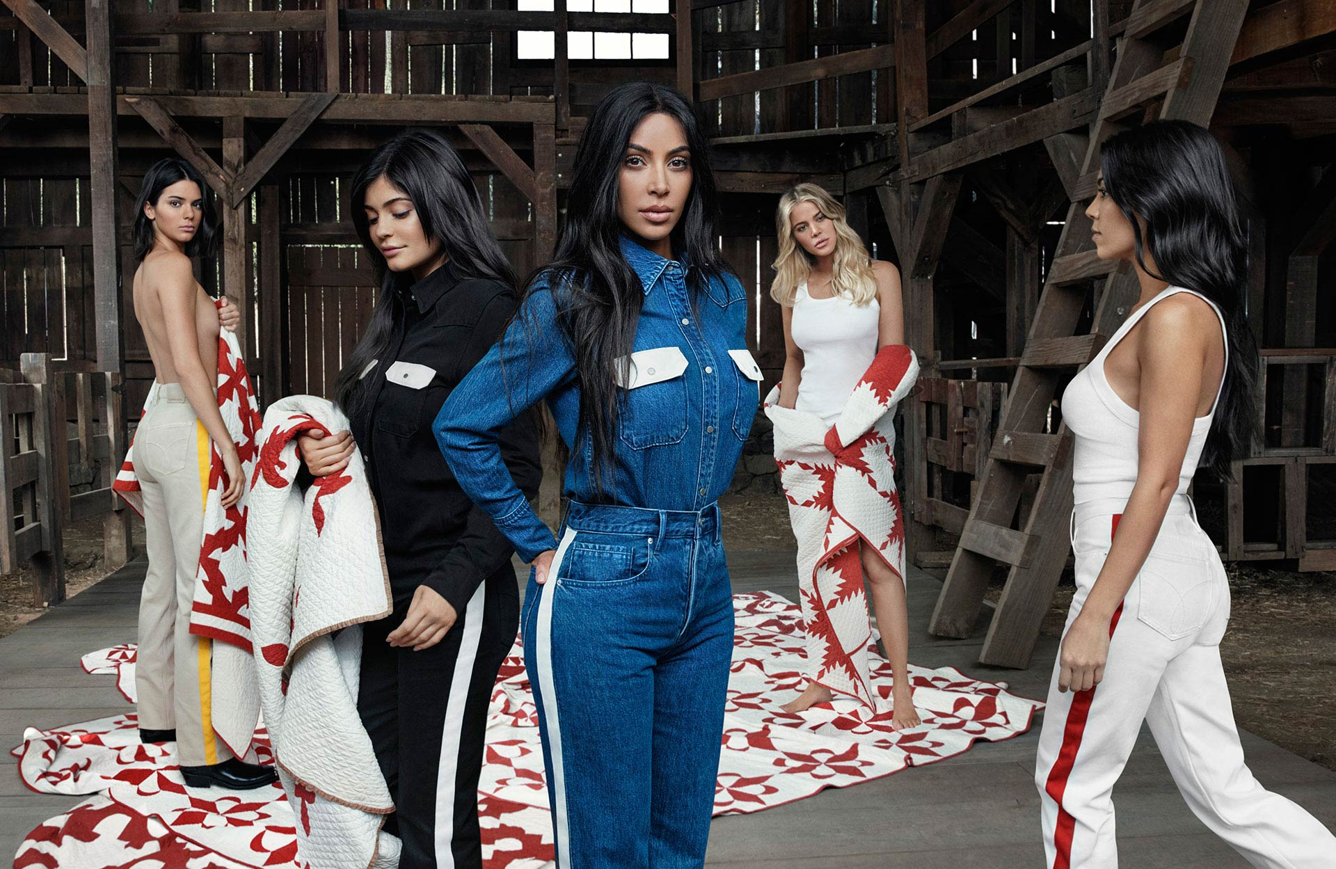 Calvin Klein Kardashians & Jenners Spring 2018 Ad Campaign