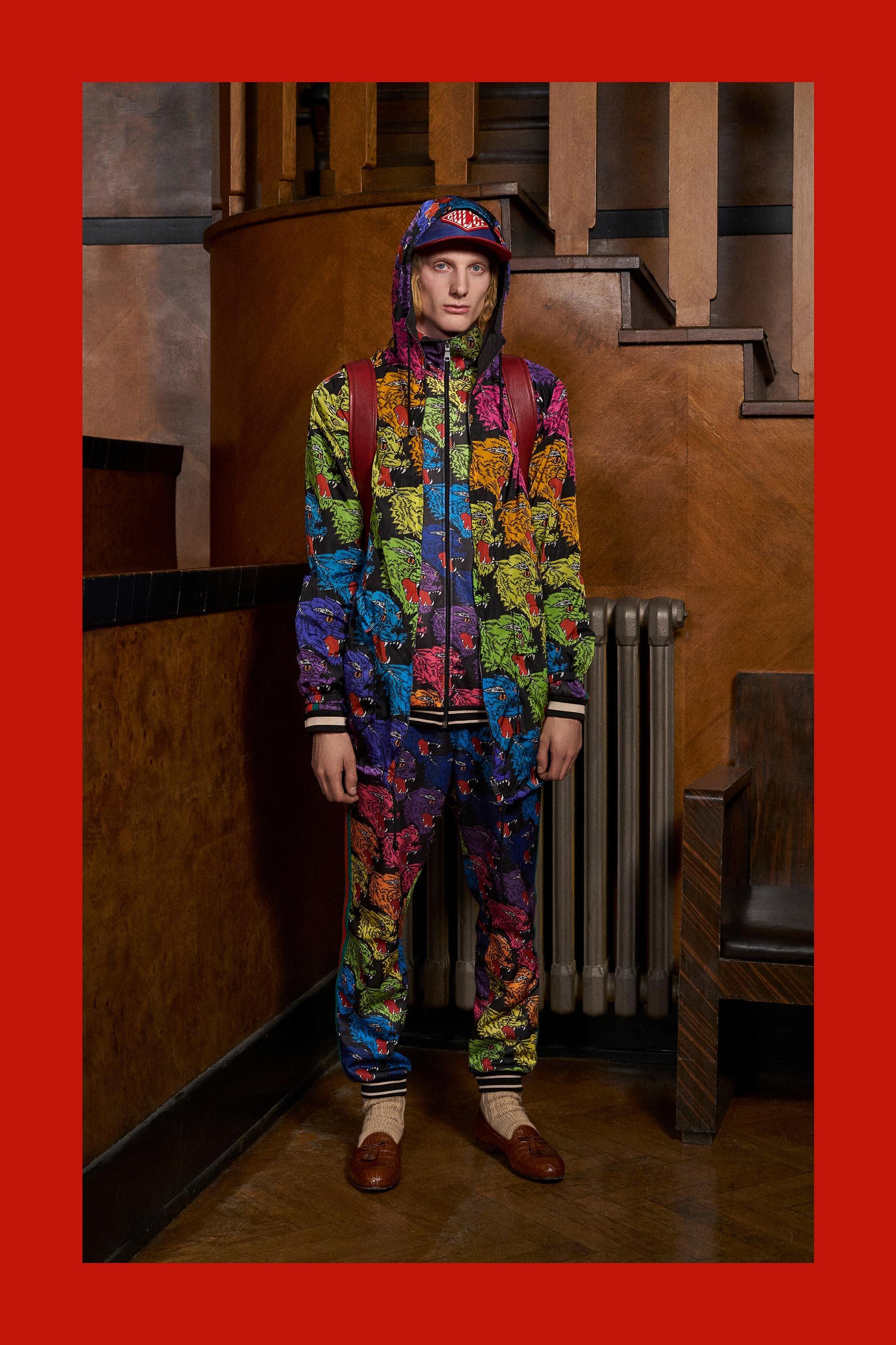 Gucci Pre-Fall 2018 Men's Lookbook