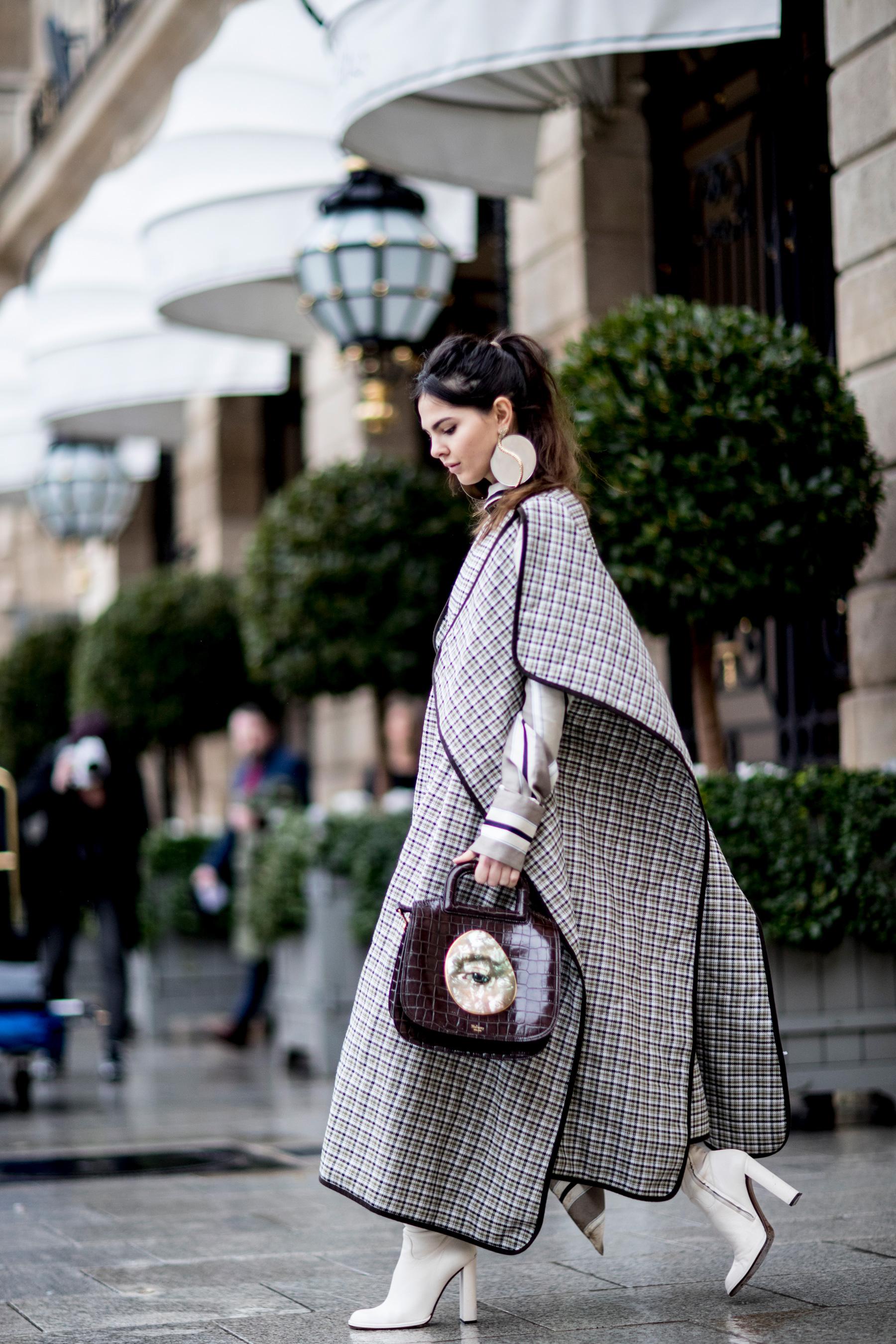 Paris Couture Fashion Week Street Style Spring 2018 Day 1