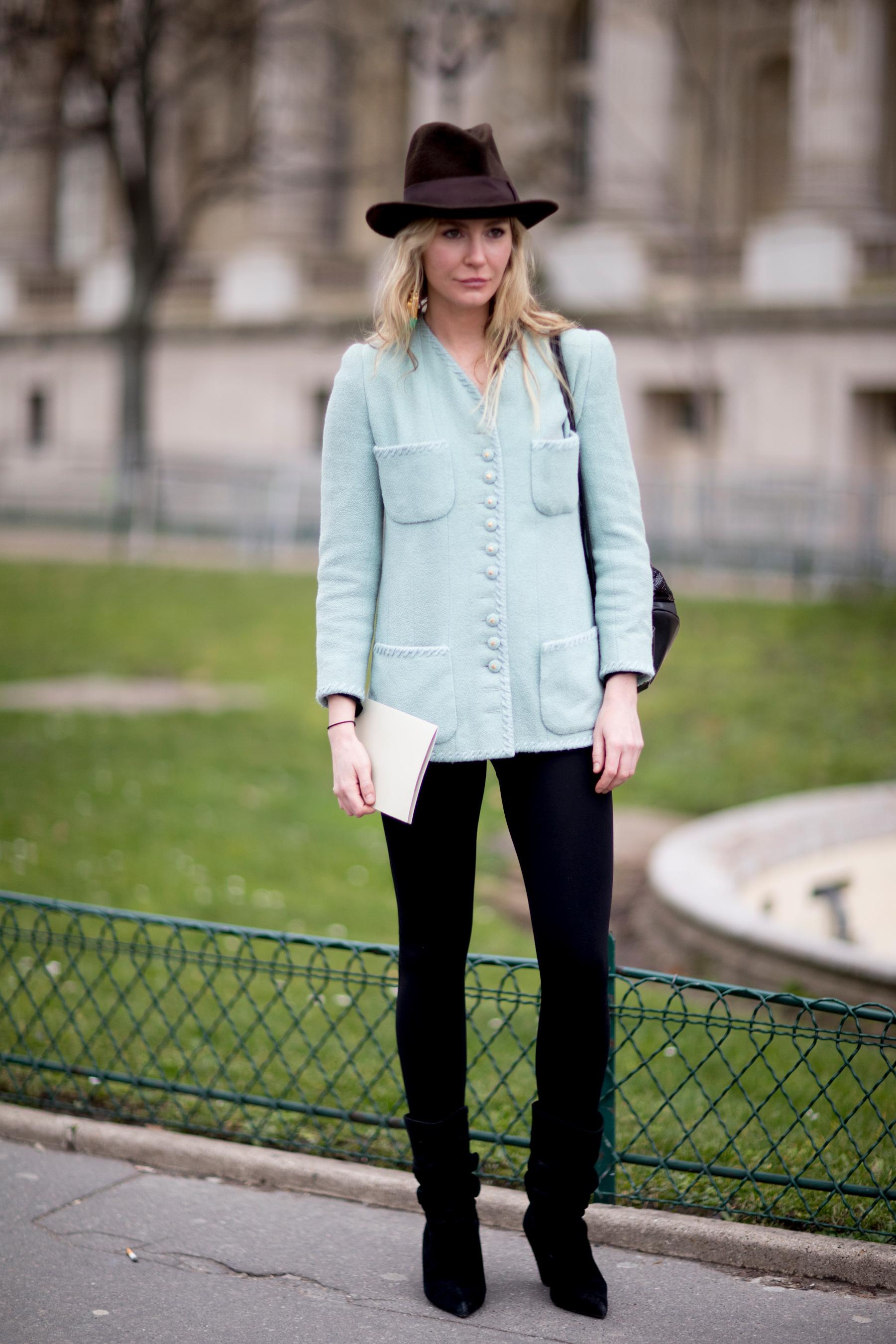 Paris Couture Fashion Week Street Style Spring 2018 Day 2