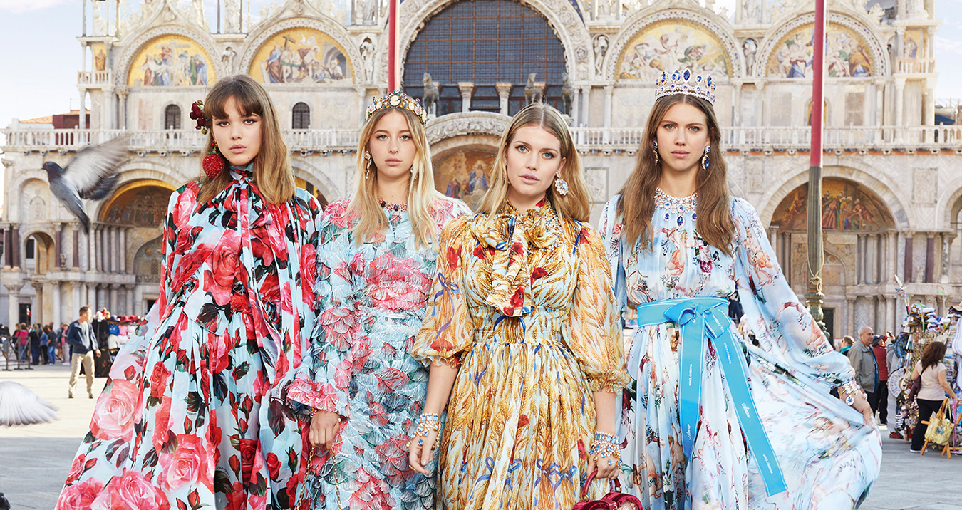 Dolce & Gabbana Tours Venice in Spring 2018 Ad Campaign