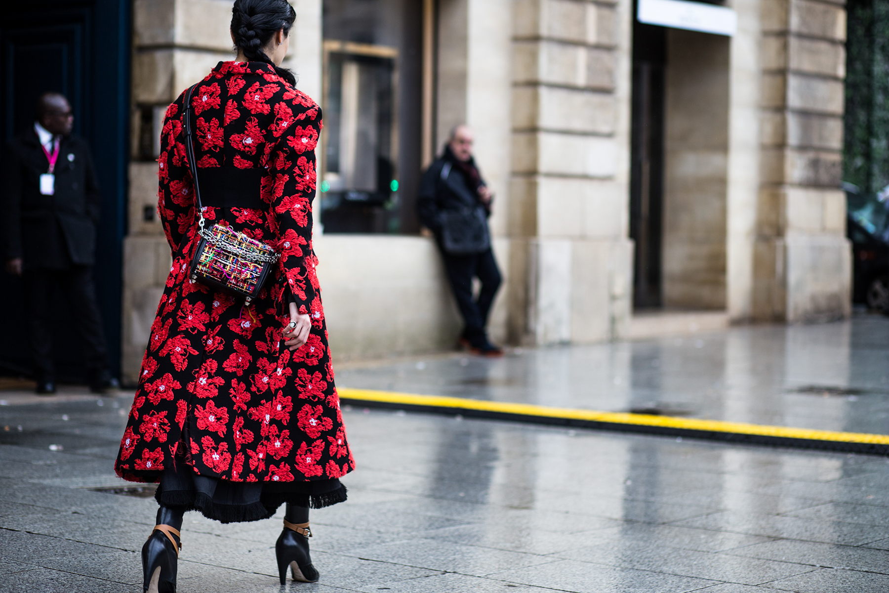 Paris Couture Fashion Week Street Style Spring 2018 by Robert Purwin