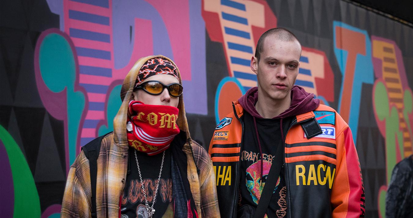 London Fashion Week Men's Street Style Fall 2018 by Poli Alexeeva