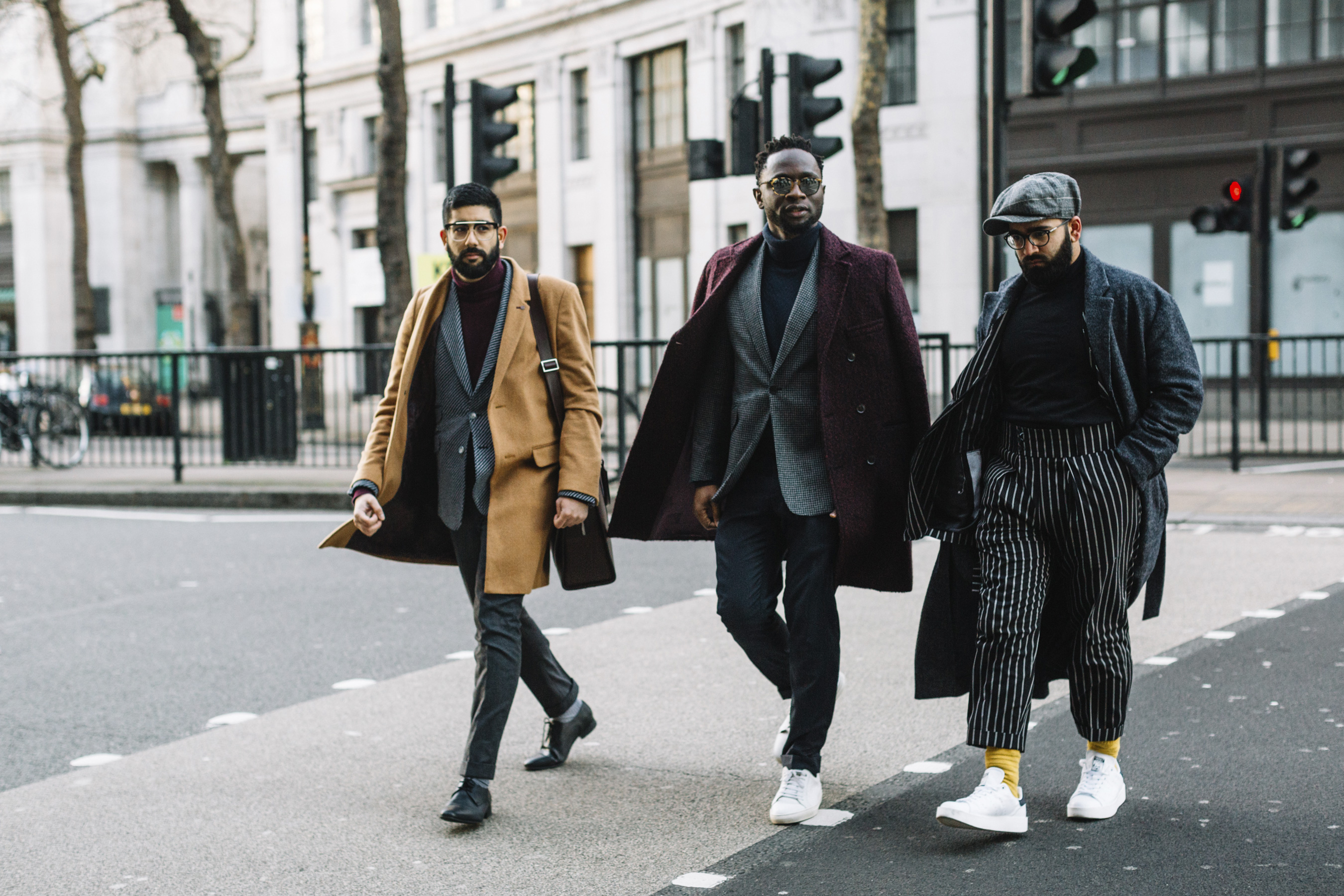 London Fashion Week Men S Street Style Fall 2018 Day 2 The Impression