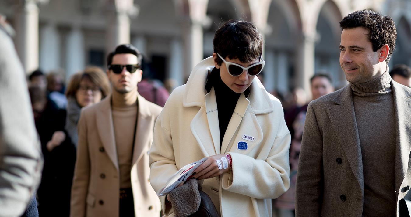 Milan Men's Street Style Fall 2018 Day 2