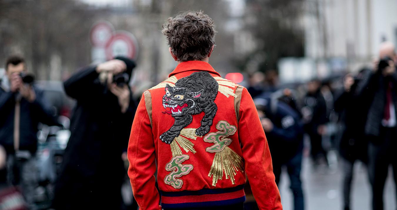 Paris Fashion Week Men's Street Style Fall 2018 Day 5
