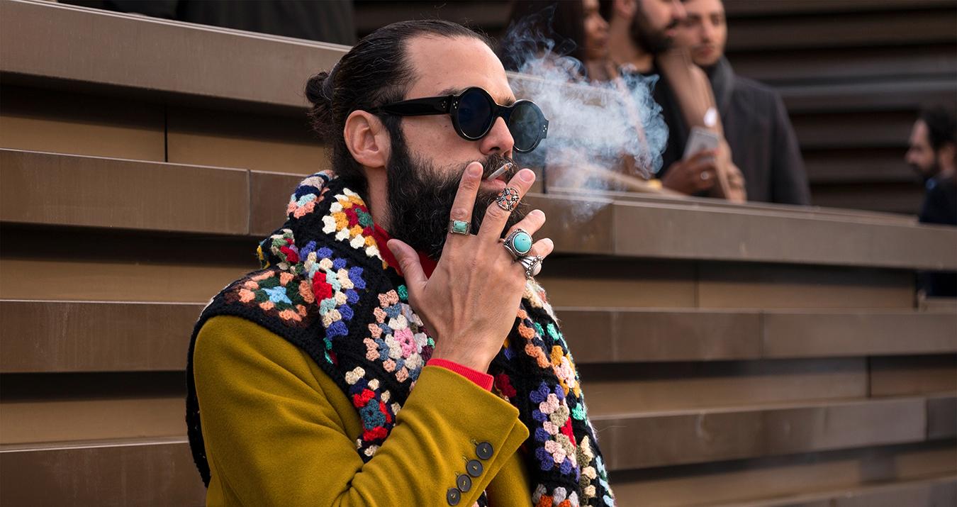 Pitti Uomo Fashion Week Men's Street Style Fall 2018Poli Alexeeva