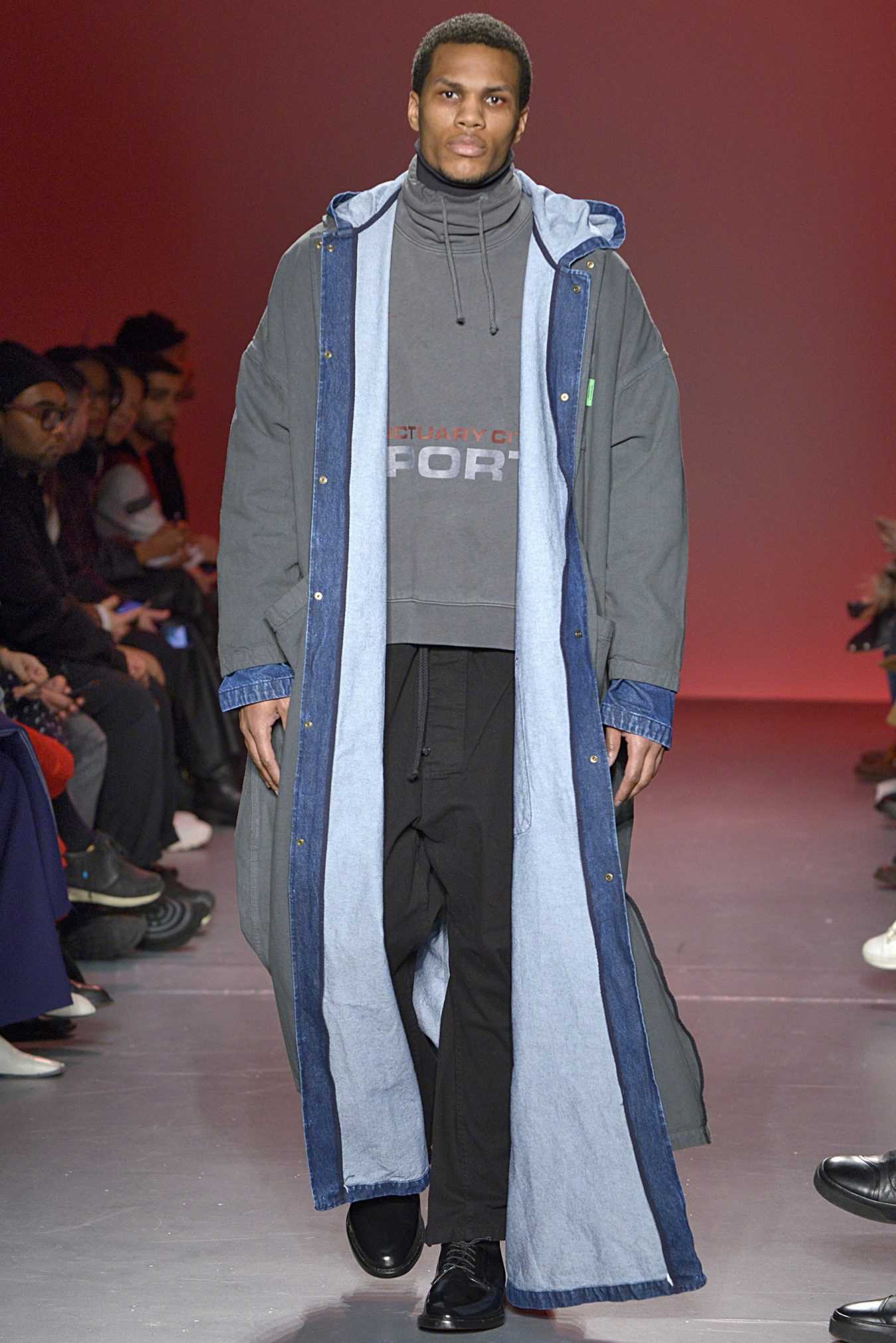 Willy Chavarria Fall 2018 Men's Fashion Show