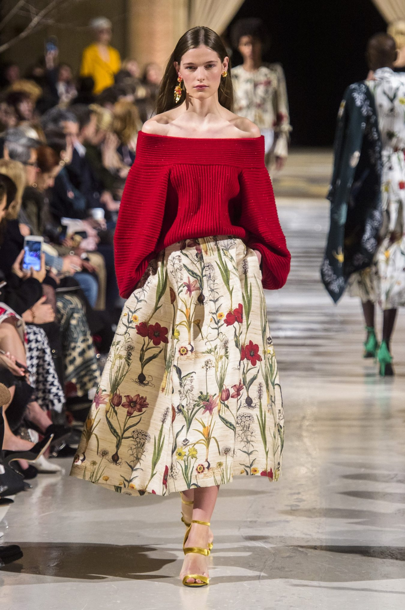 Oscar de la Renta Fall 2018 Fashion Show