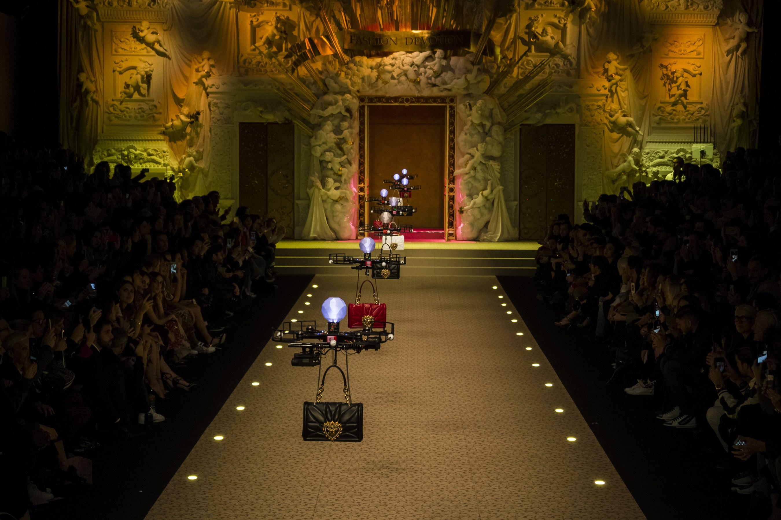 Dolce & Gabbana Replaces Millennial Models with Drones on Fall 2018 Runway