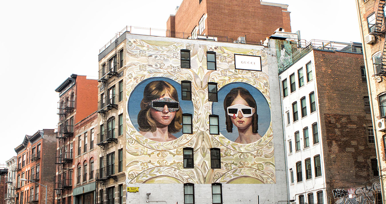 Gucci Announces New Art Walls with Spanish artist Ignasi Monreal