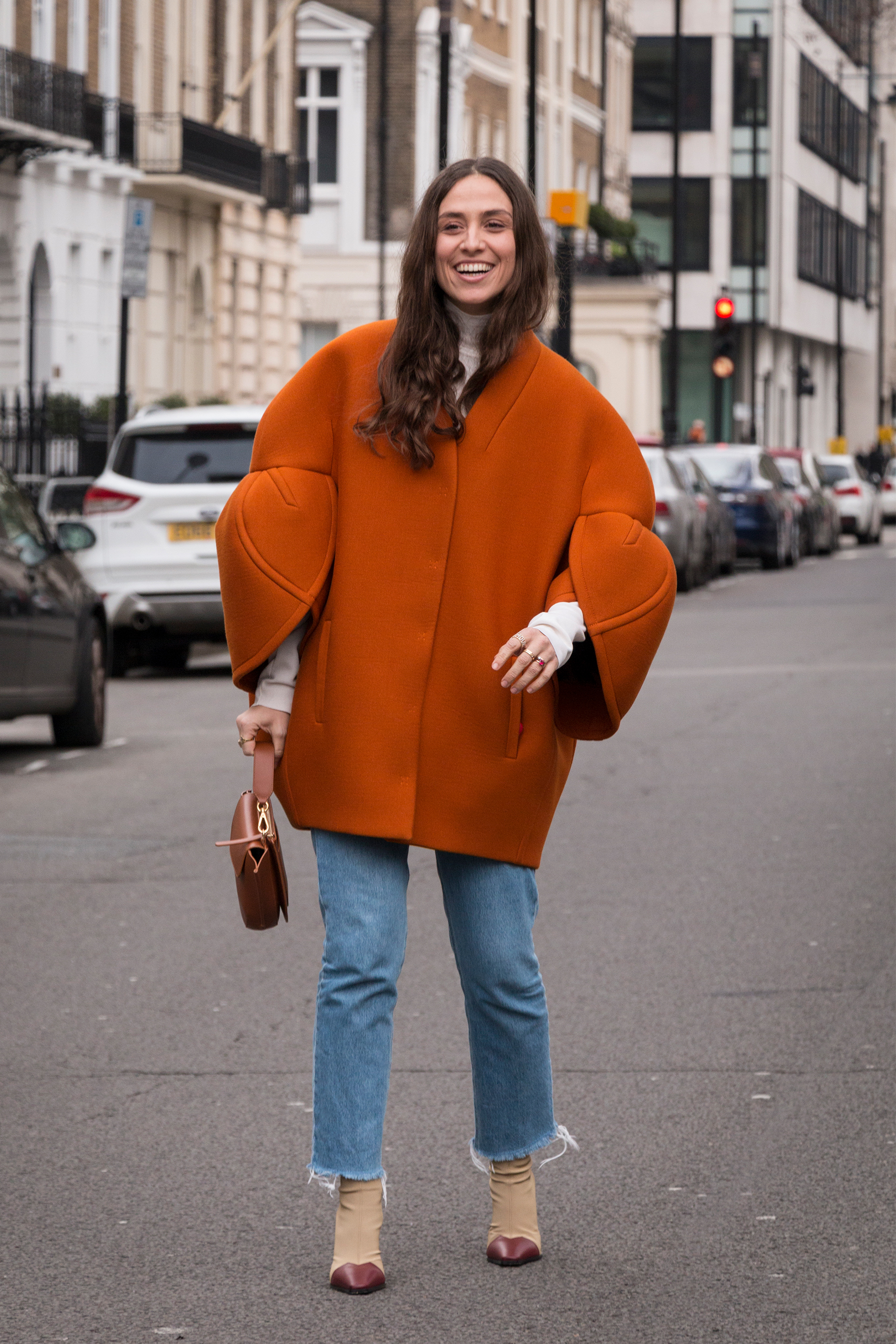 London Fashion Week Street Style Fall 2018 by Poli Alexeeva