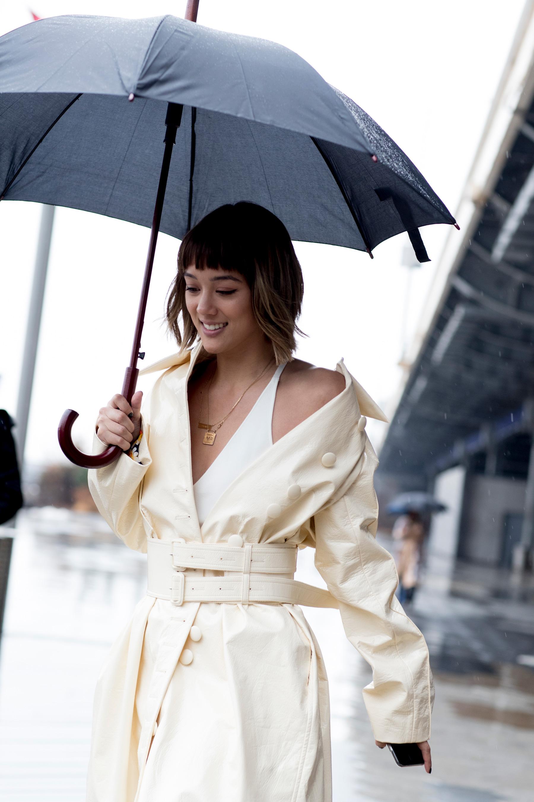 New York Fashion Week Street Style Fall 2018 Day 4