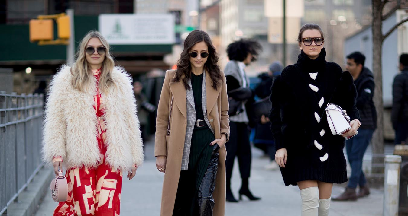 New York Fashion Week Street Style Fall 2018 Day 1 - The
