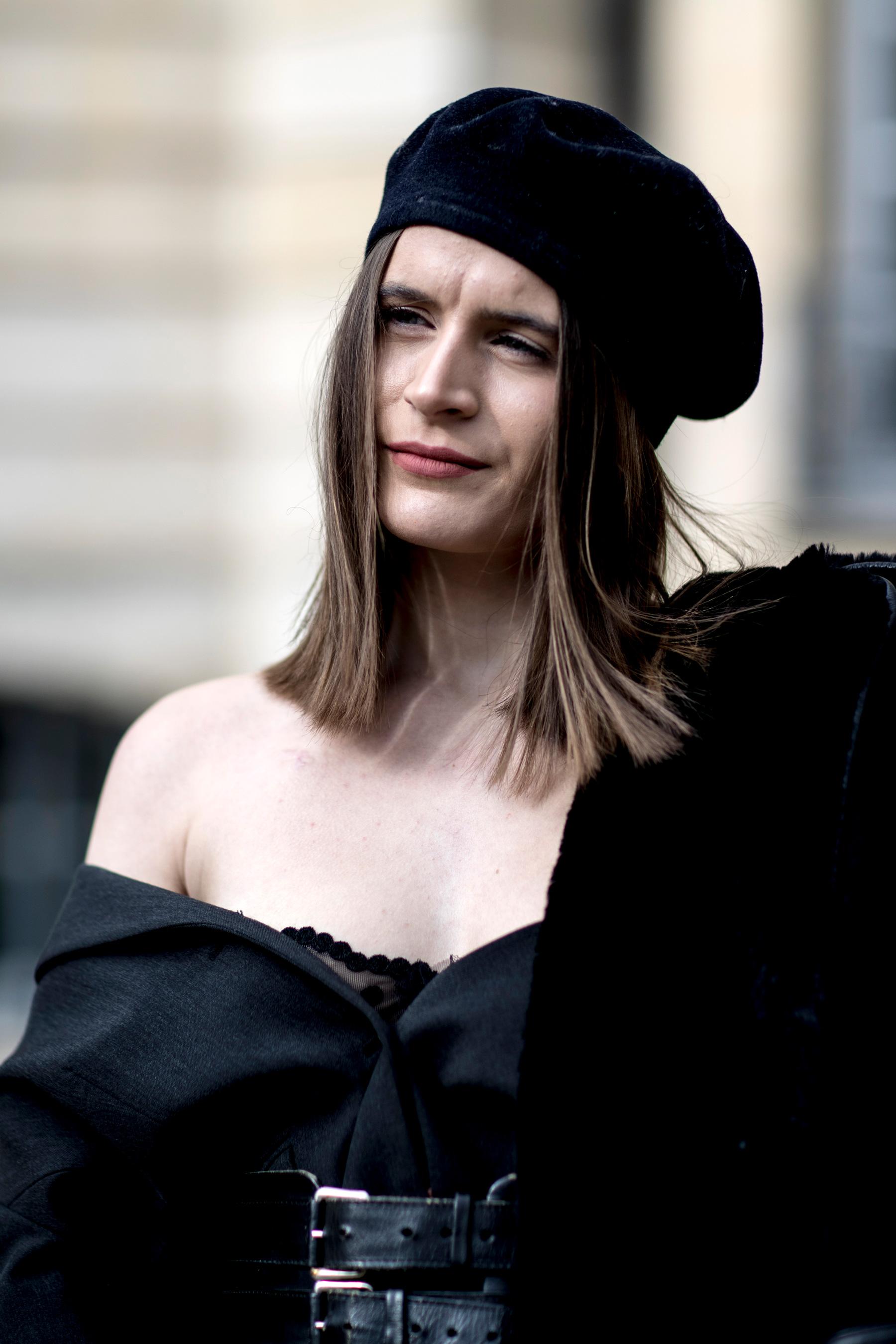Paris Fashion Week Street Style Fall 2018 Day 1
