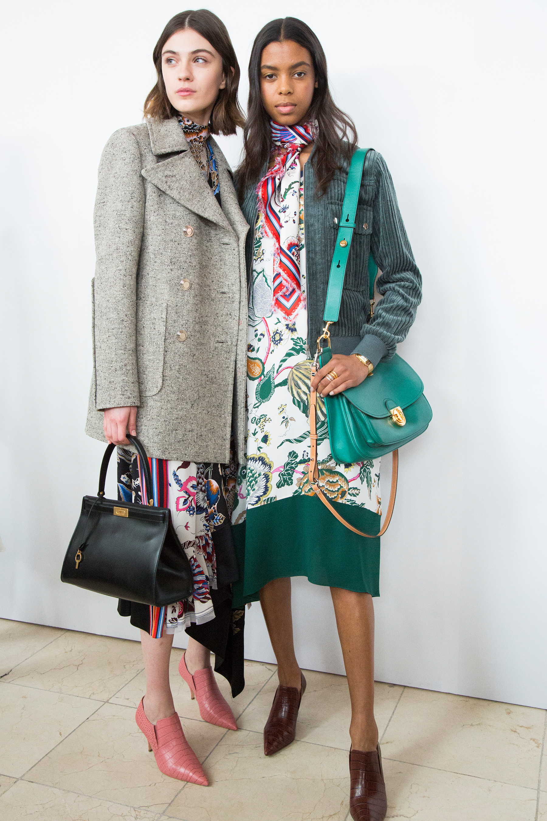 b24b9074976 Tory Burch Fall 2018 Fashion Show Backstage - The Impression