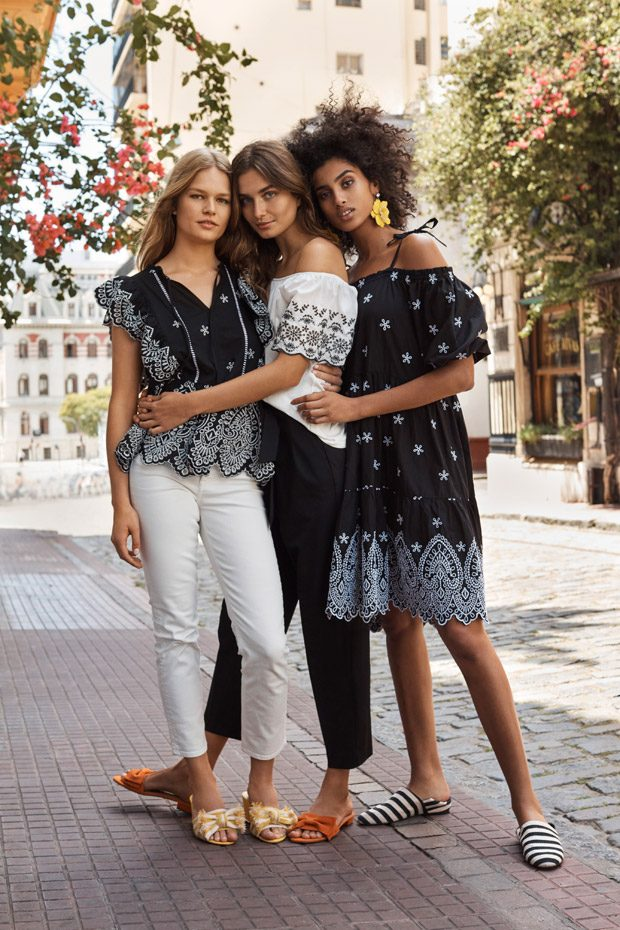 Spring 2018 Ads - Superga x Alexa Chung, H&M, Wunderkind, Sisley, Dion Lee, United Colors of Benetton