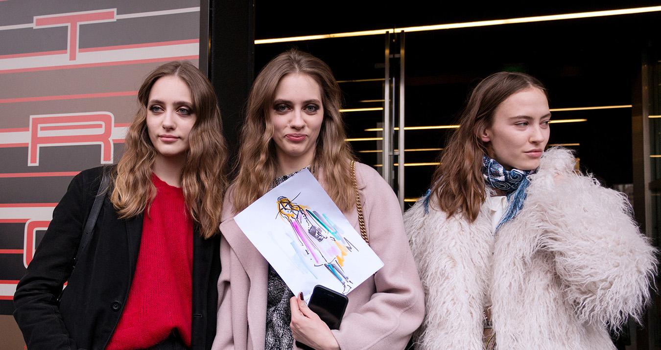 Off-Duty Models - Milan Fashion Week Street Style Fall 2018 by Poli Alexeeva