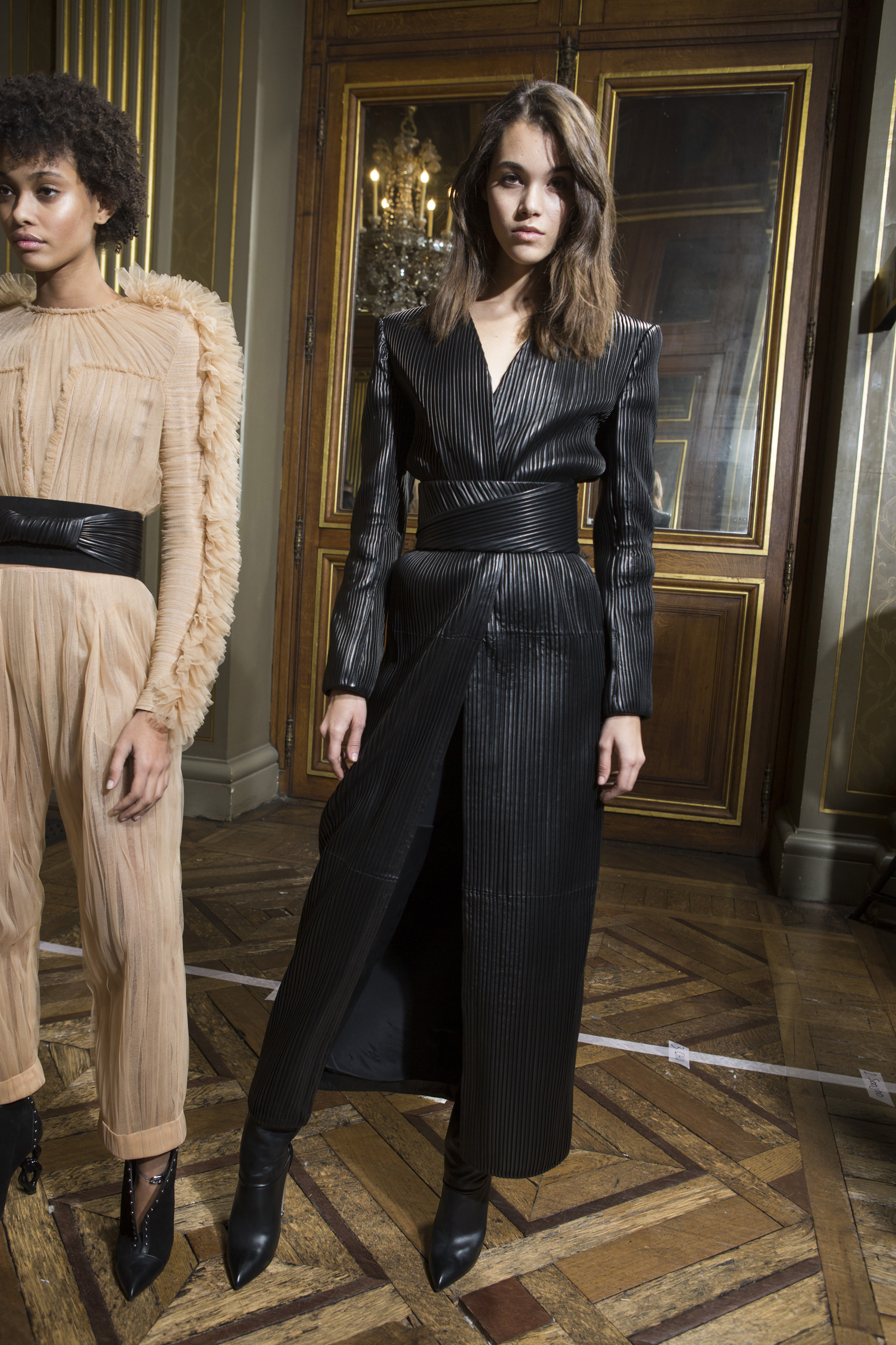 Balmain Fall 2018 Fashion Show Backstage