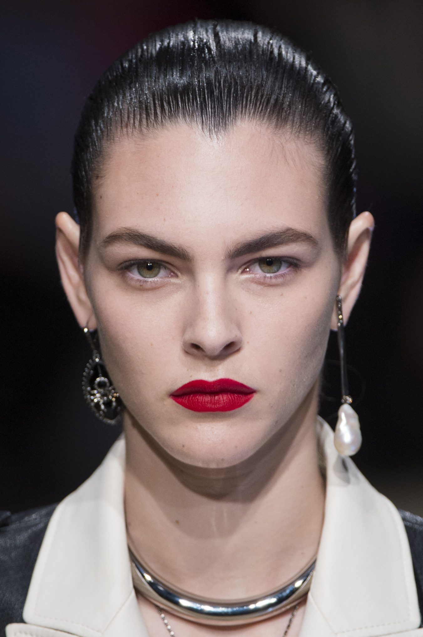 Alexander McQueen Fall 2018 Fashion Show Beauty