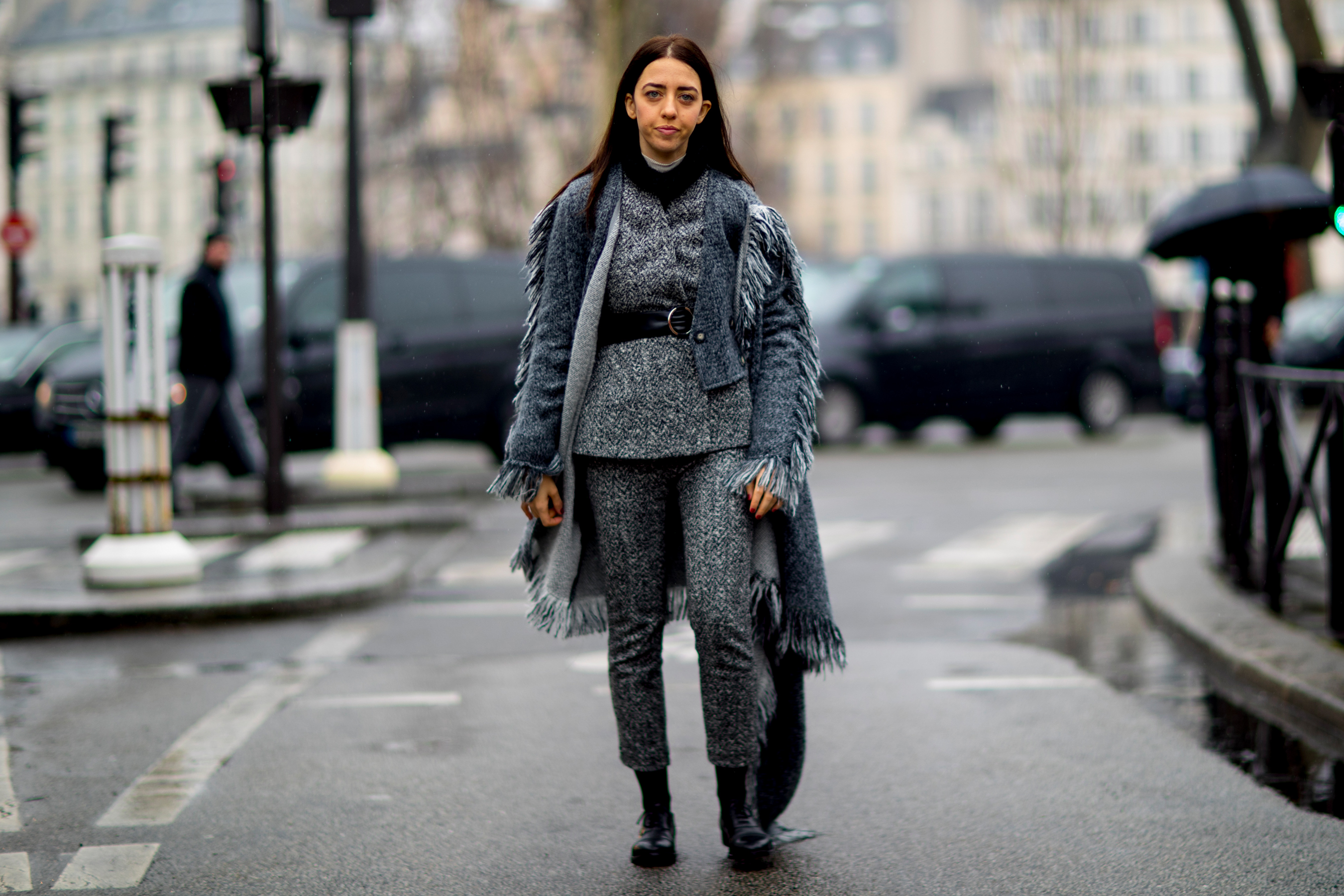 Paris Fashion Week Street Style Fall 2018 Day 4