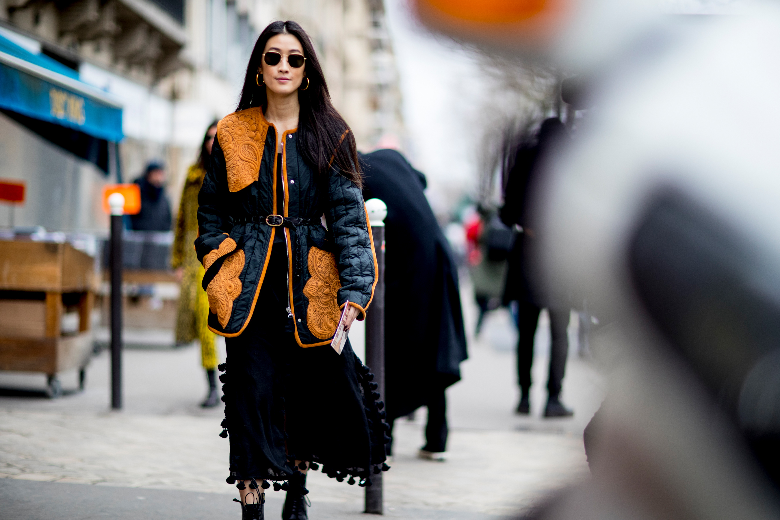 Paris Fashion Week Street Style Fall 2018 Day 5