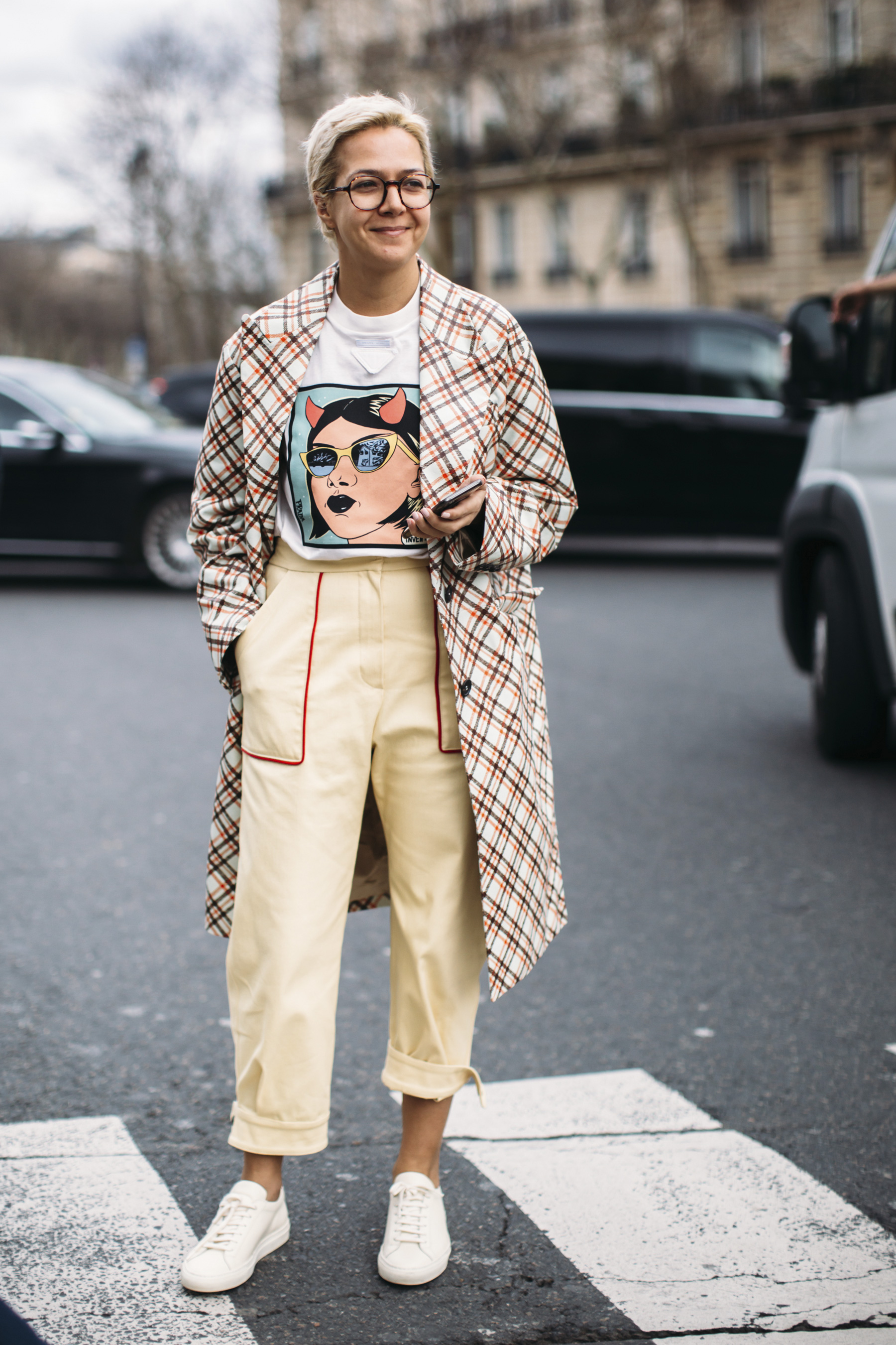 Paris Fashion Week Street Style Fall 2018 Day 8 Cont.
