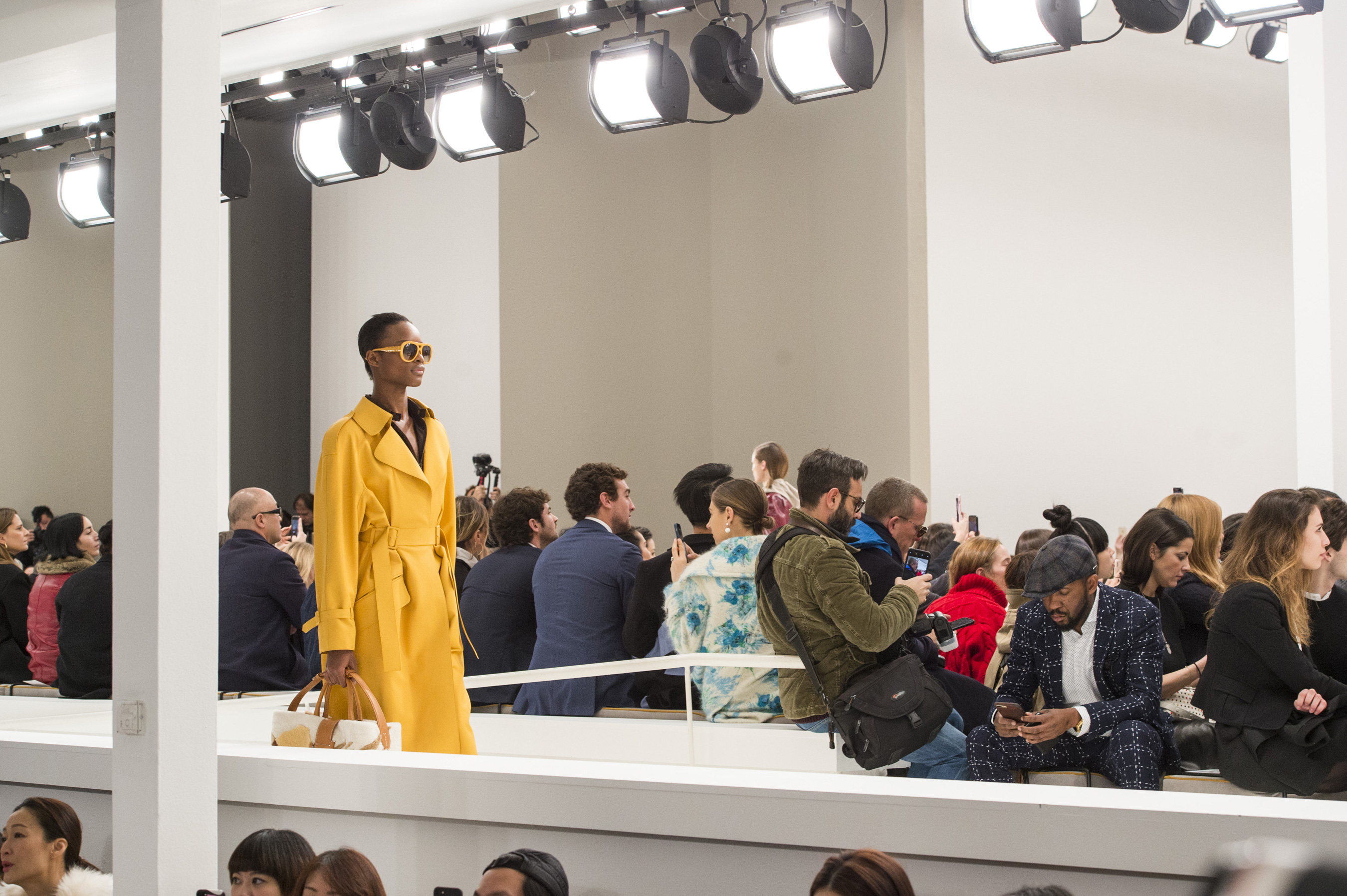 Tod's Fall 2018 Fashion Show Atmosphere