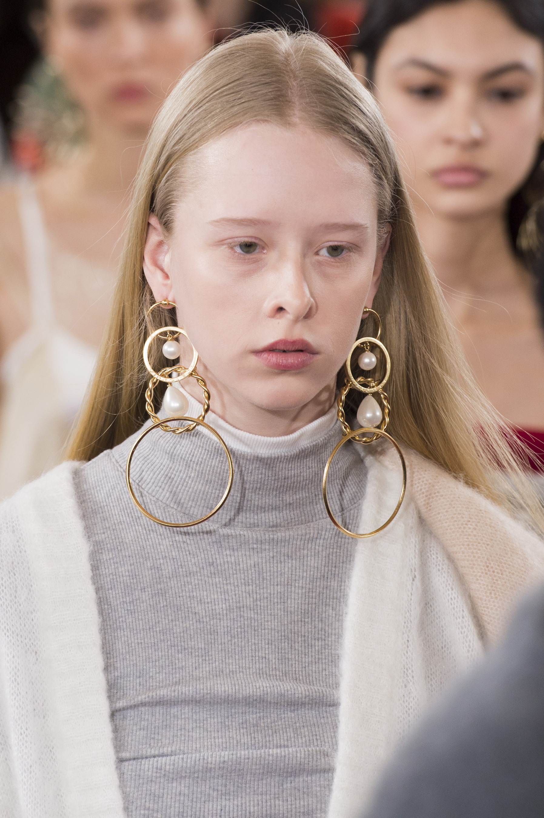 Y/Project Fall 2018 Fashion Show Beauty