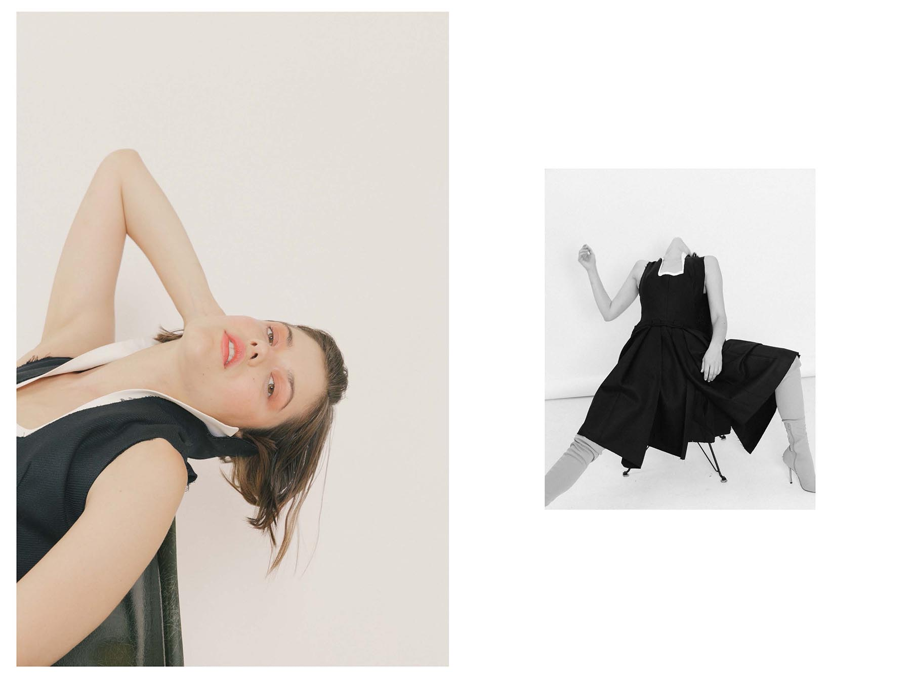 No One Told Me About Her - fashion editorial by Caitlin Taffs and Heidi Tappis
