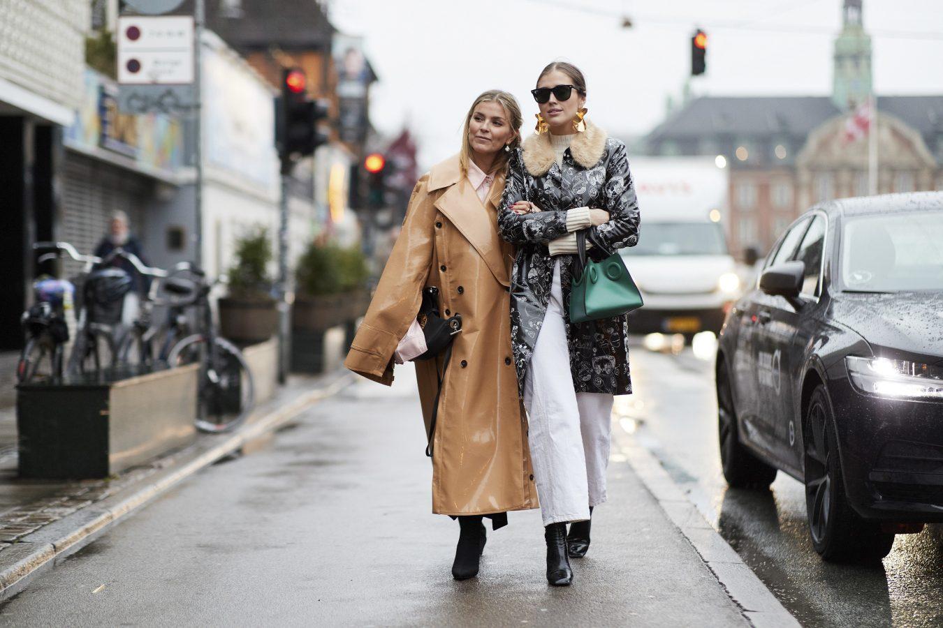 Copenhagen Fashion Week Street Style Fall 2018 Day 1