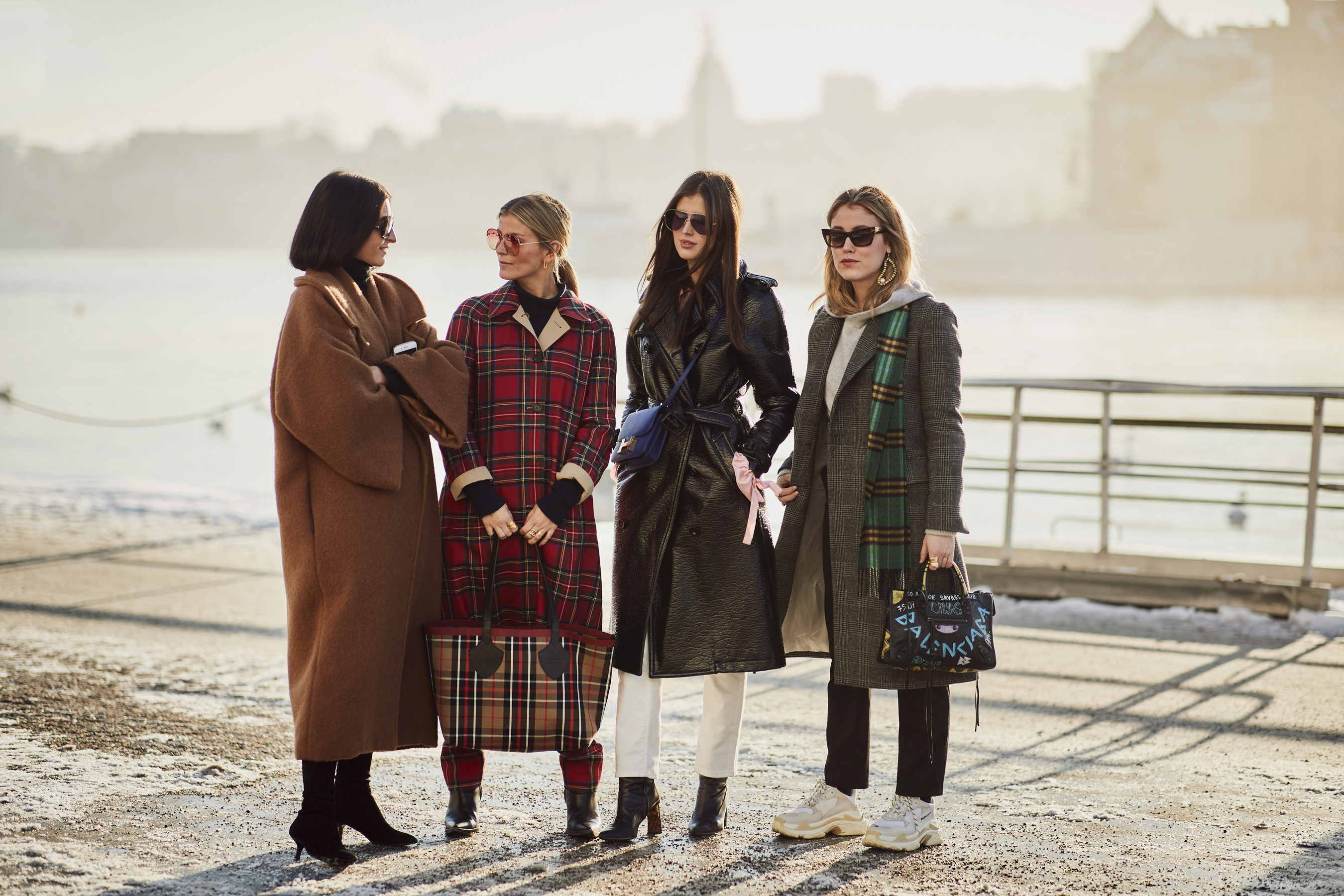 Stockholm Fashion Week Street Style Fall 2018 Day 1