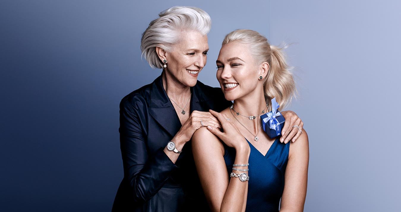 Swarovski Mother's Day 2018 Campaign with Karlie Kloss