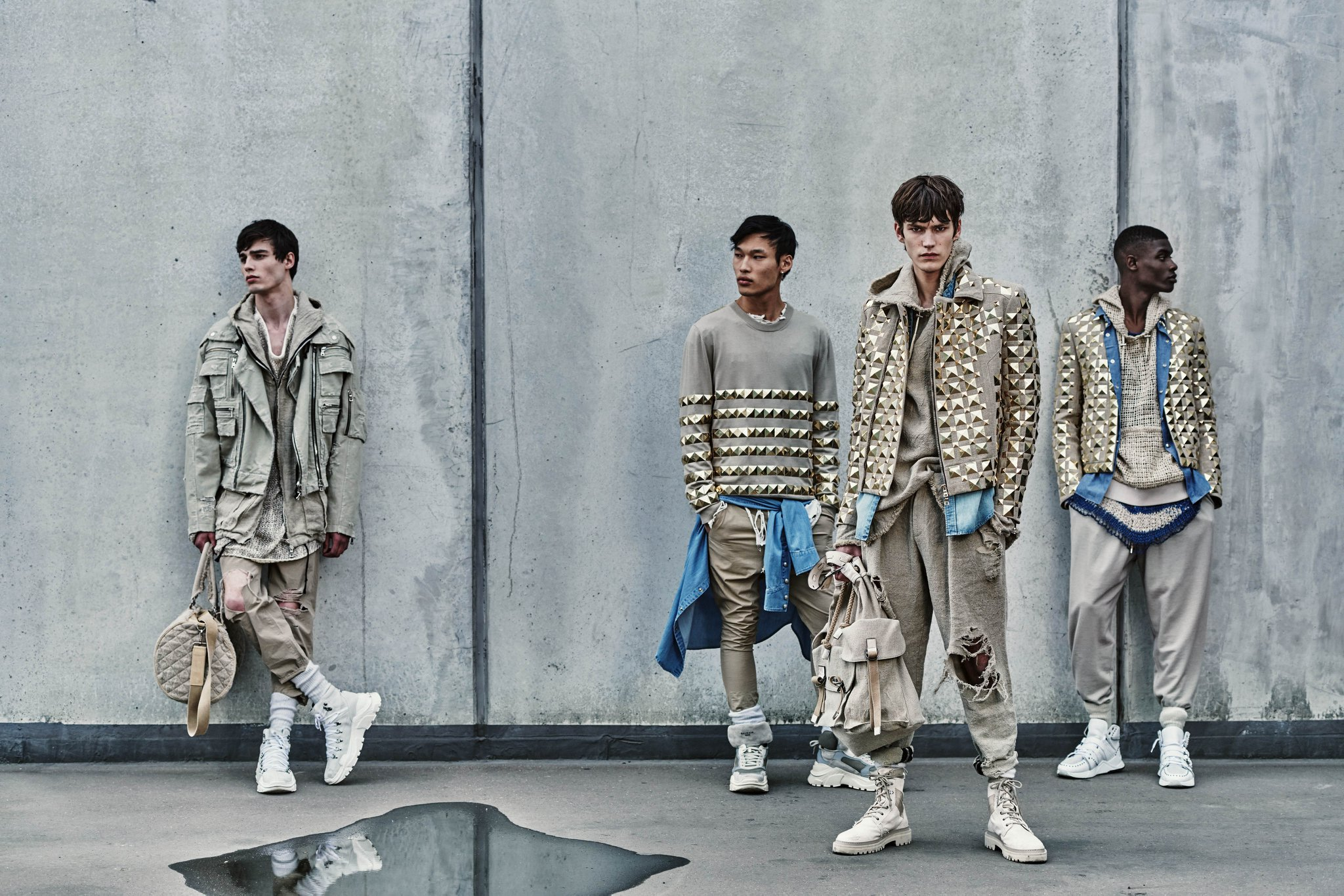 Balmain Men's Resort 2019 Collection