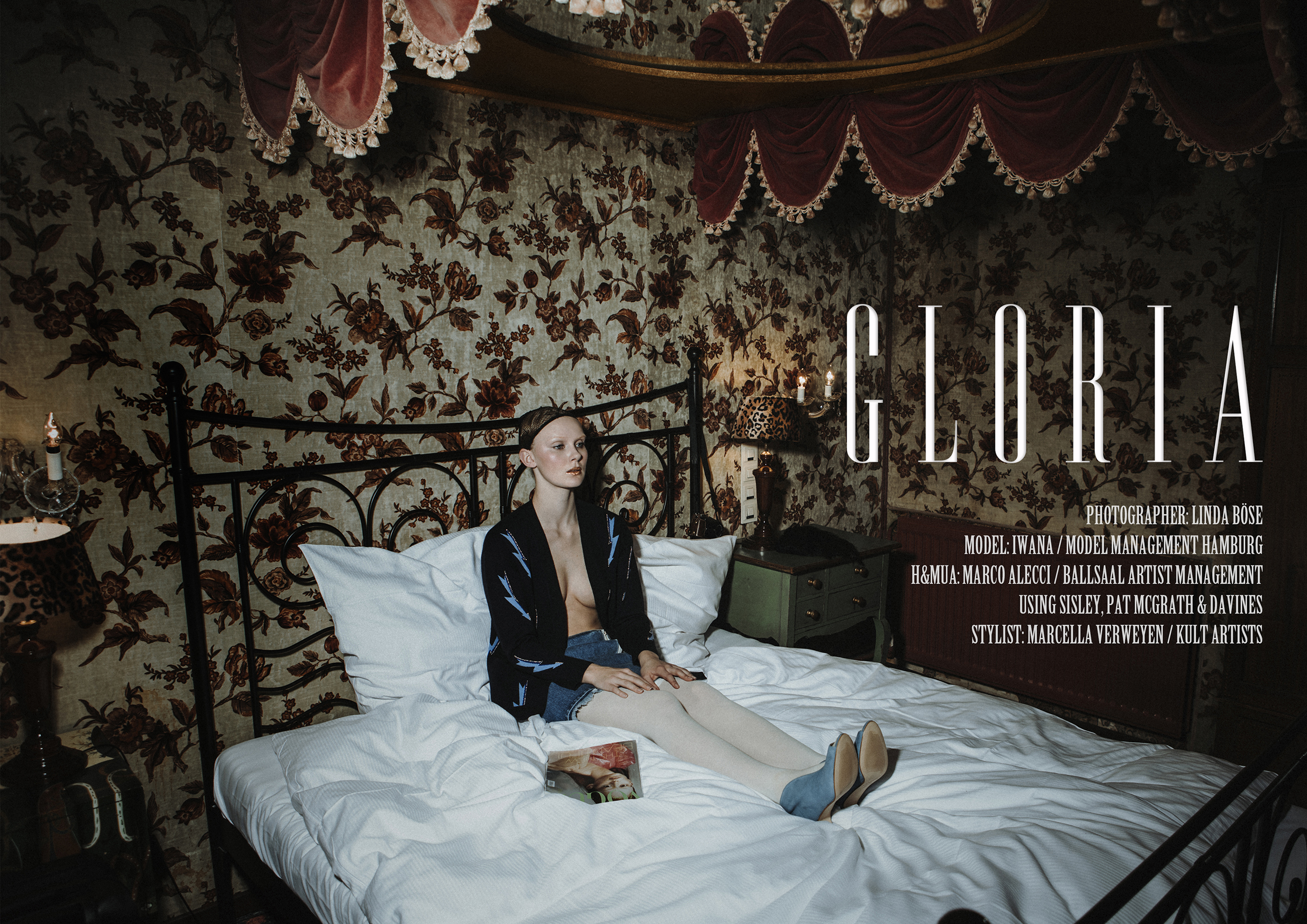 Gloria - fashion editorial by Linda Böse