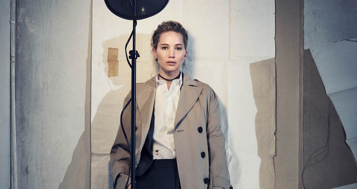 Dior Pre-Fall 2018 Ad Campaign Jennifer Lawrence