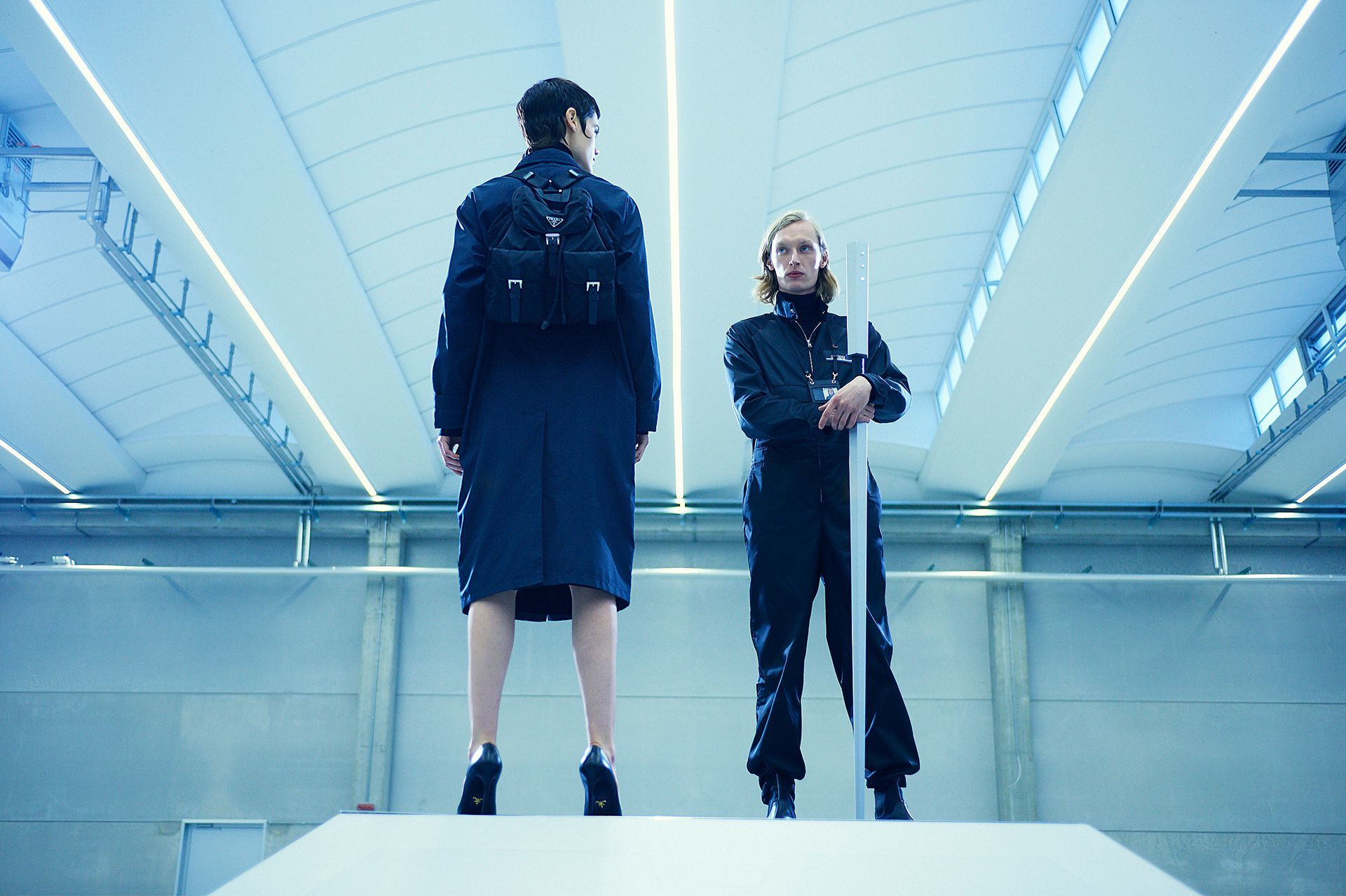"""The house of Prada and its founder Miuccia have always had an affinity for both film and technology, but never have the two merged as poetically as their latest film series """"Nylon Farm."""" The series from agency DlvBBDO, and directed by D I • A L, is designed to celebrate the houses signature fabrication, nylon."""
