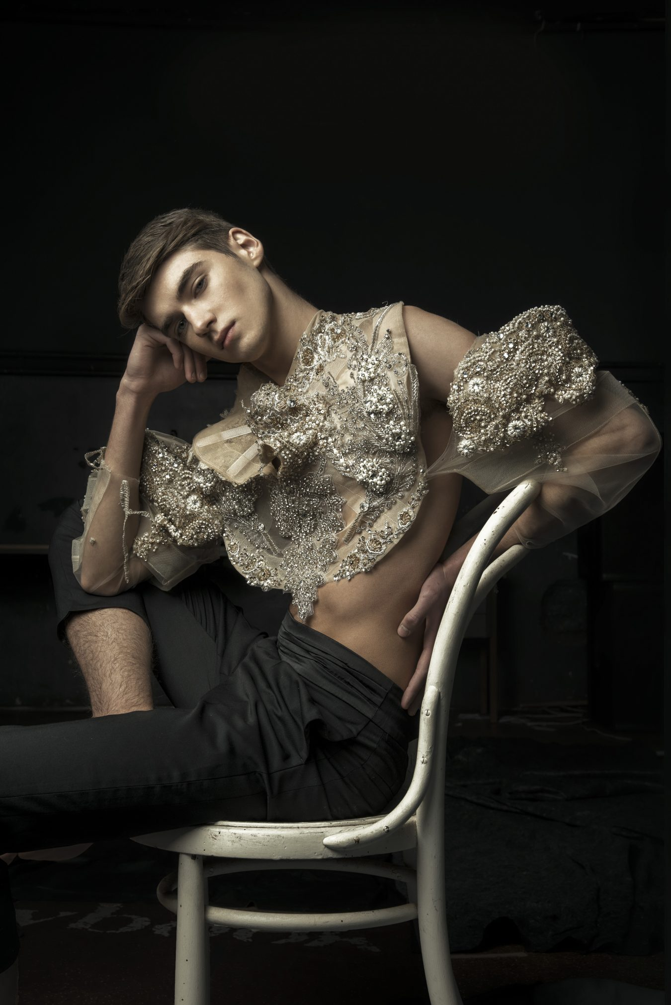 Pink Prince - Fashion Editorial by Filip Koludrovic and Petar Trbovic