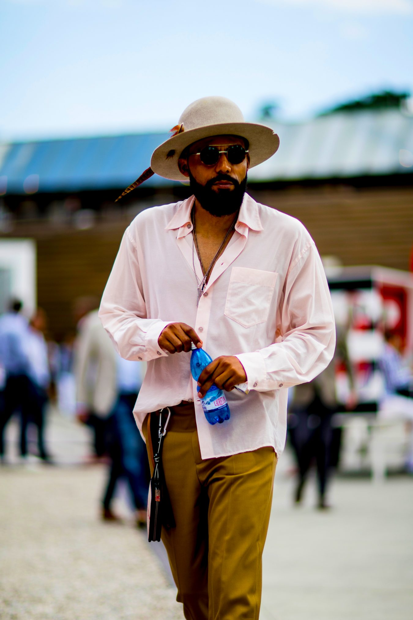 Firenze Pitti Uomo Fashion Week Men's Street Style Spring 2019 Day 1