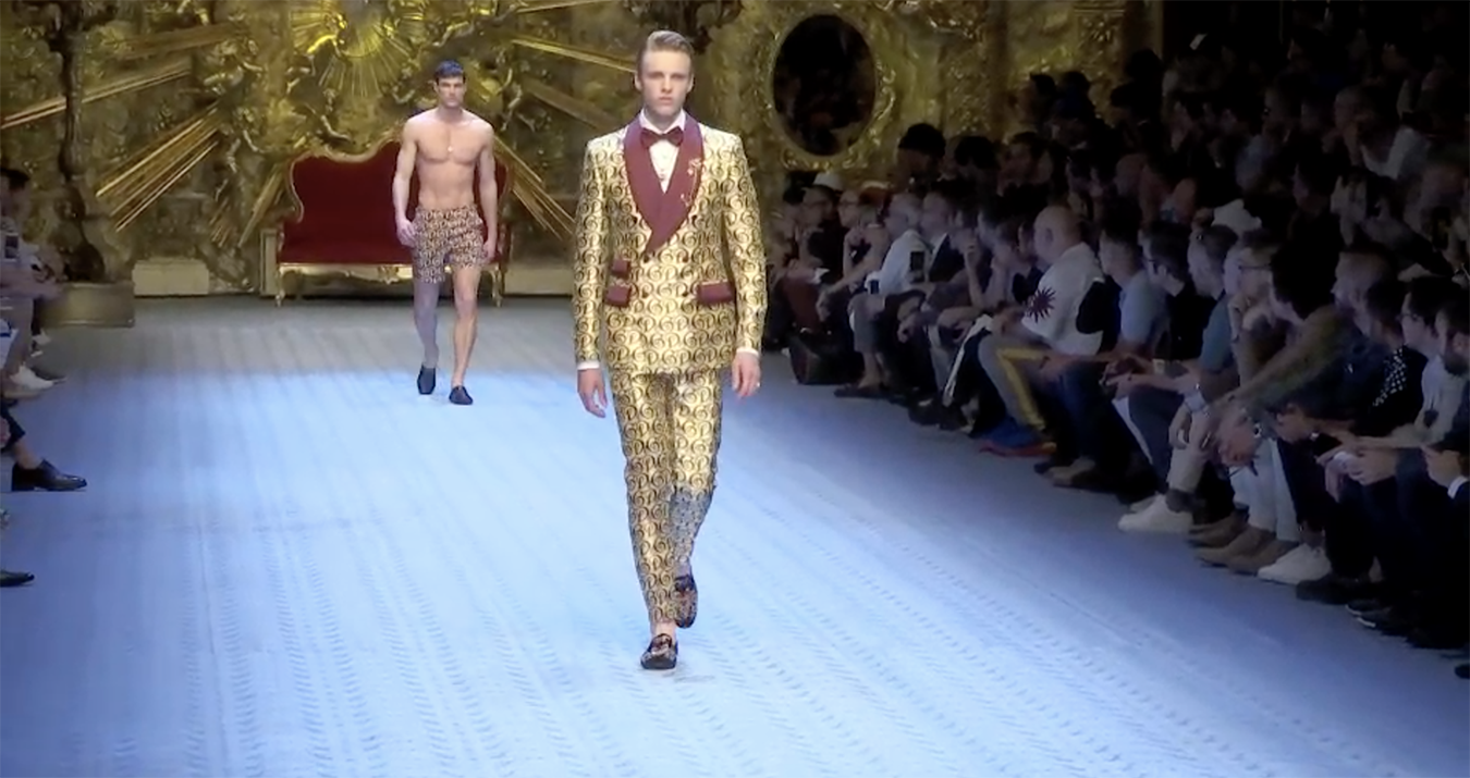 Dolce Gabbana Spring 2019 Men's Fashion Show Film. All the Spring 2019 Men's fashion shows from Paris Fashion Week in one place on The Impression.