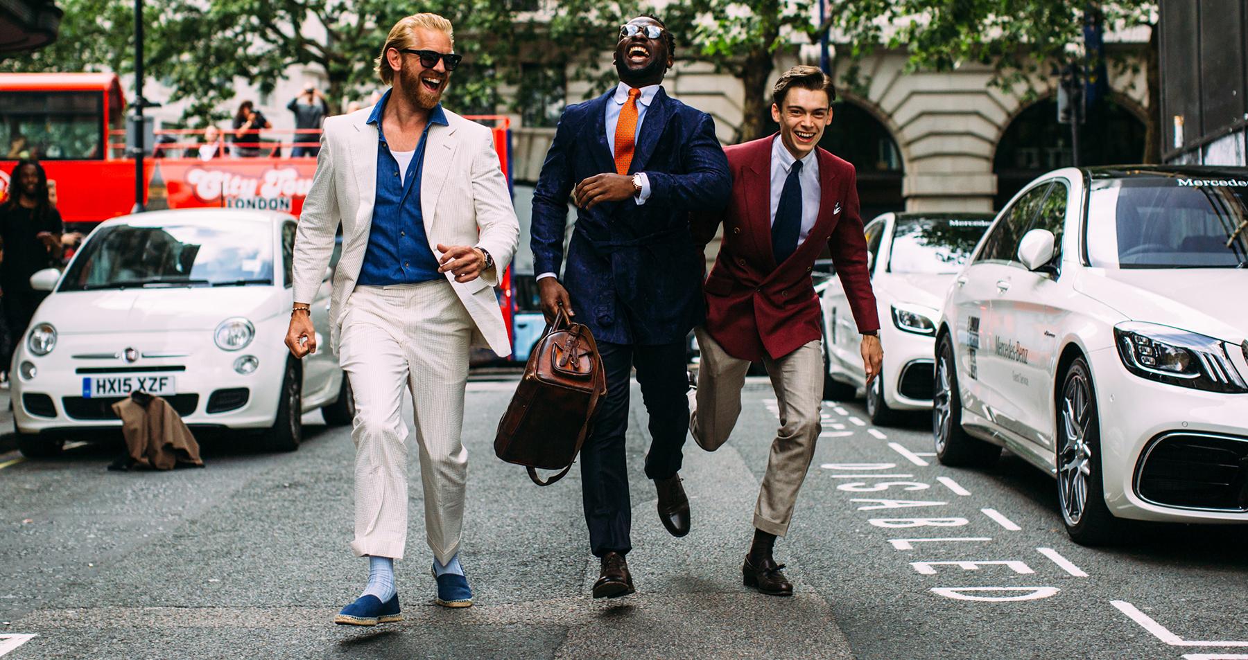 London Men's Street Style Fall 2019 Day 2