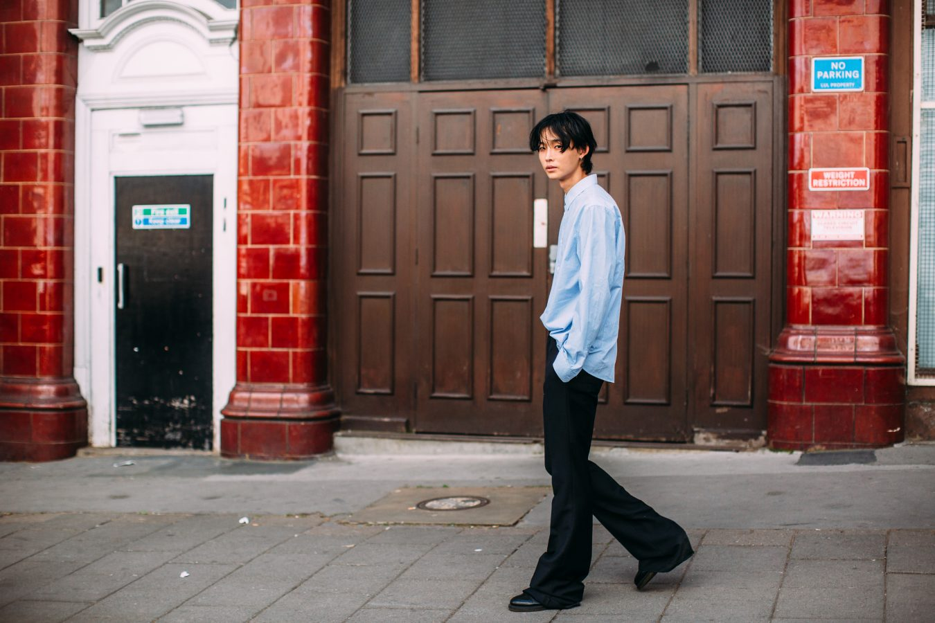 London Men's Street Style Fall 2019 Day 3