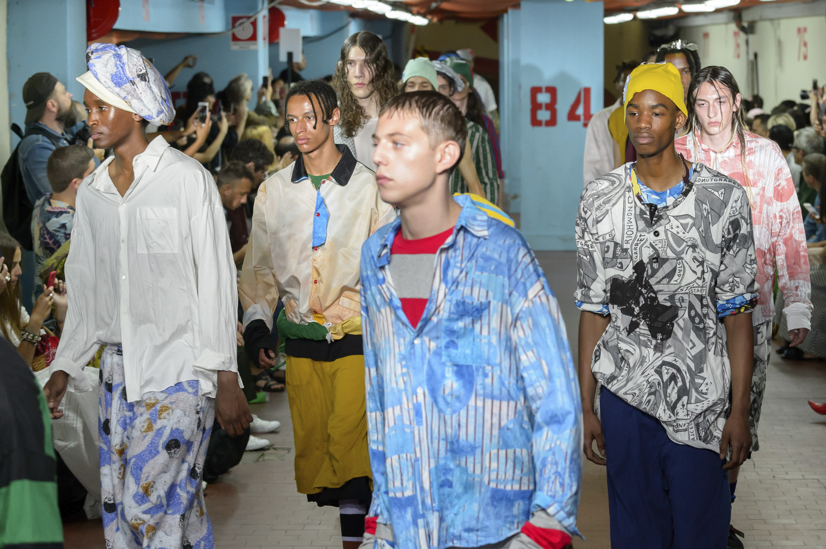 Marni Spring 2019 Men's Fashion Show Atmosphere