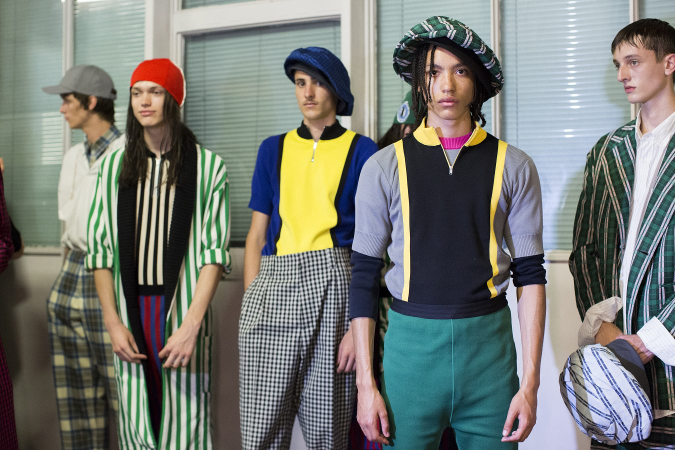 Marni Spring 2019 Men's Fashion Show Backstage