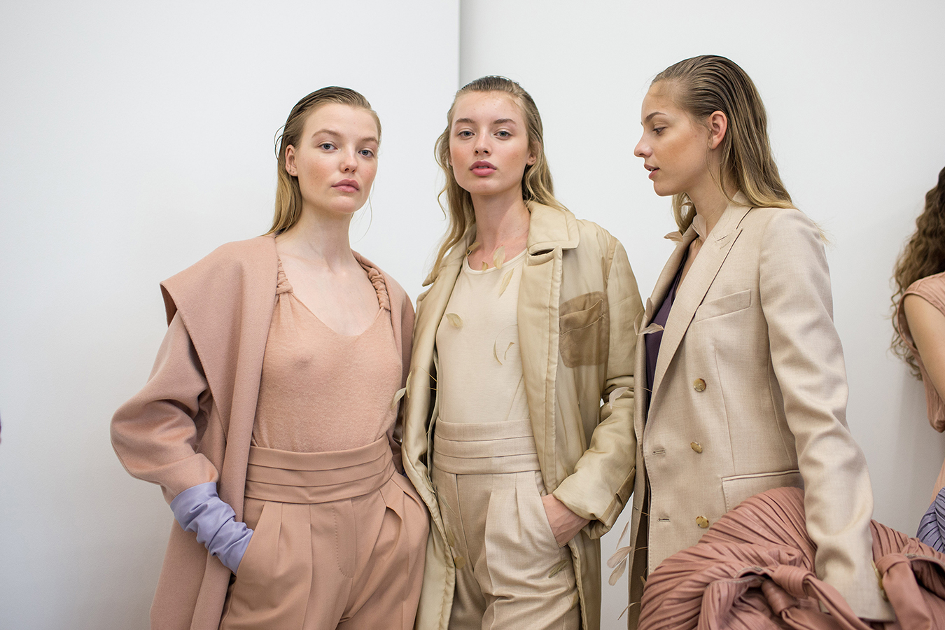 Max Mara Resort 2019 Backstage