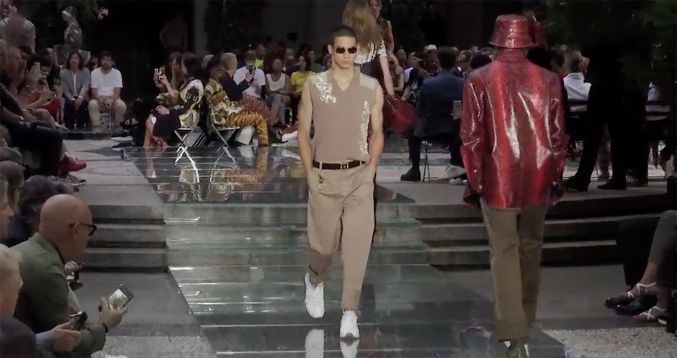 Versace Spring 2019 Men's Fashion Show Film. All the Spring 2019 fashion shows from Paris Fashion Week in one place on The Impression.